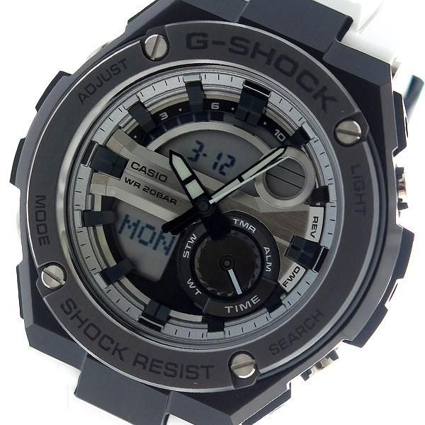 カシオ CASIO Gショック G-SHOCK クオーツ メンズ 腕時計 GST-210B-7A シルバー【送料無料】