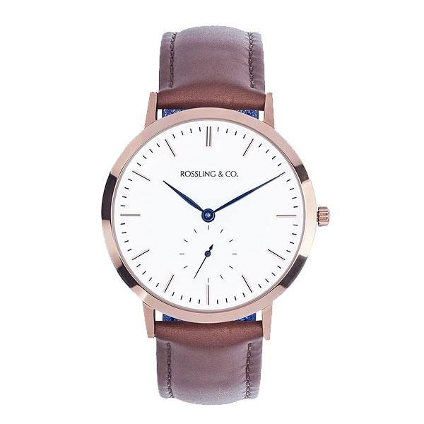 ROSSLING ロスリング MODERN 36MM WESTHILL レディース 腕時計 RO-003-001 ブラウン/ホワイト【】【楽ギフ_包装】