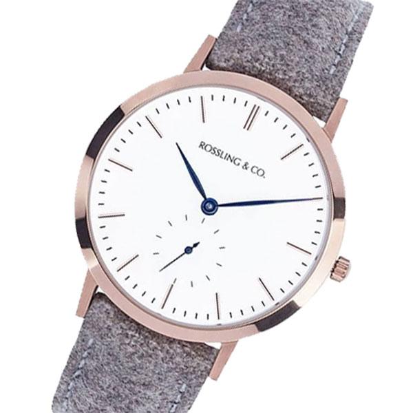ROSSLING ロスリング MODERN 36MM ABERDEEN レディース 腕時計 RO-003-005 ベージュ/ホワイト【】【楽ギフ_包装】