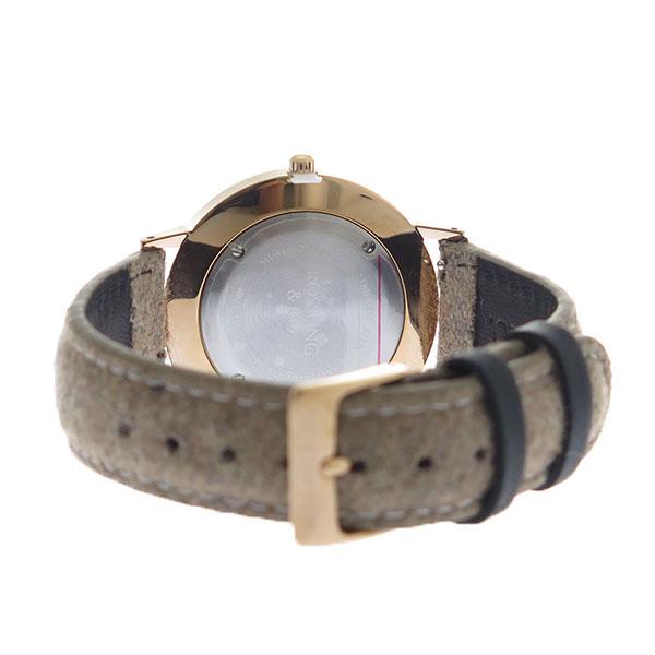 ROSSLING ロスリング MODERN 36MM Aberdeen クオーツ ユニセックス 腕時計 RO-003-006 ライトブラウン/ブルー【】【楽ギフ_包装】
