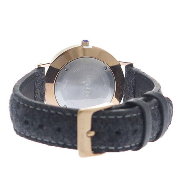 ROSSLING ロスリング MODERN 36MM Glencoe クオーツ ユニセックス 腕時計 RO-003-013 グレー/ホワイト【】【楽ギフ_包装】