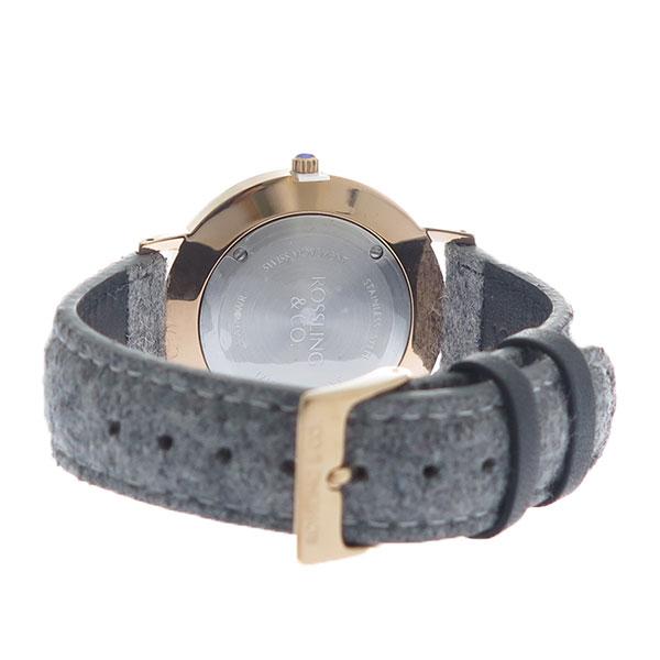 ROSSLING ロスリング MODERN 36MM STIRLING レディース 腕時計 RO-003-016 ライトグレー/ブルー【】【楽ギフ_包装】