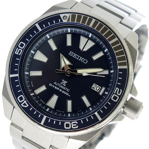セイコー SEIKO プロスペックス PROSPEX 自動巻き メンズ 腕時計 SRPB49J1 ネイビー【送料無料】