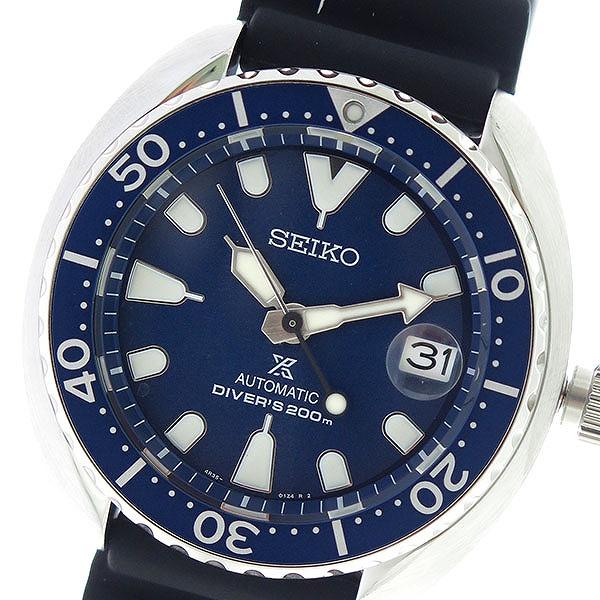 セイコー SEIKO プロスペックス PROSPEX 自動巻き メンズ 腕時計 SRPC39K1 ネイビー/ブラック【送料無料】