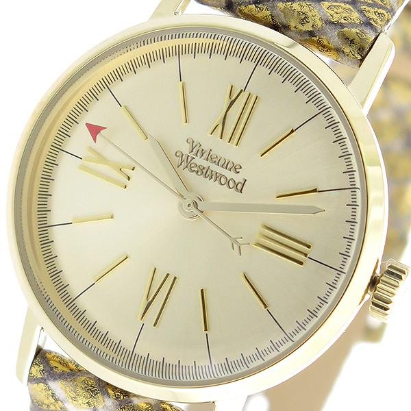 ヴィヴィアンウエストウッド Vivienne Westwood クオーツ レディース 腕時計 VV170GDMT ゴールド/ゴールド【送料無料】