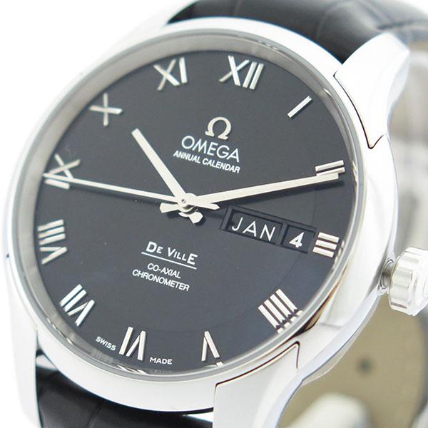 オメガ OMEGA デビル DE VILLE 自動巻き メンズ 腕時計 431.13.41.22.01.001 ブラック/ブラック【送料無料】