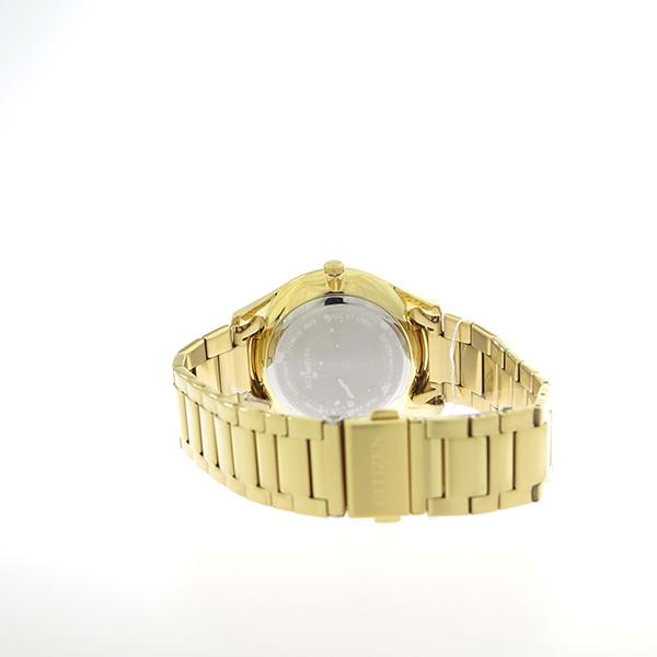 シチズン CITIZEN   クオーツ メンズ 腕時計 AG8353-81E ブラック/ゴールド【】【楽ギフ_包装】