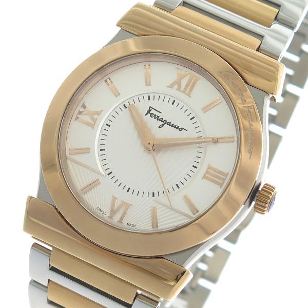 送料無料 ラッピング無料 サルヴァトーレ フェラガモ Salvatore Ferragamo VEGA メンズ クオーツ 好評 信頼 シルバー 腕時計 FI0890016 ゴールド
