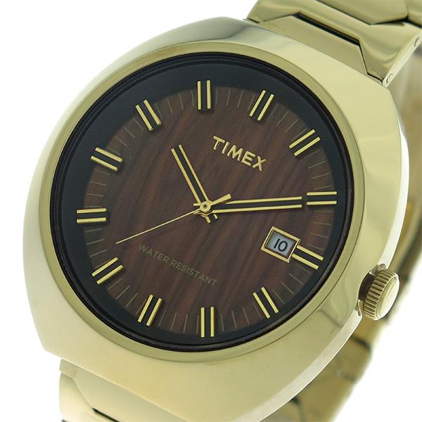 タイメックス TIMEX リミテッドエディション Limited Edition クオーツ ユニセックス 腕時計 T2N881 ウッド/ゴールド【送料無料】