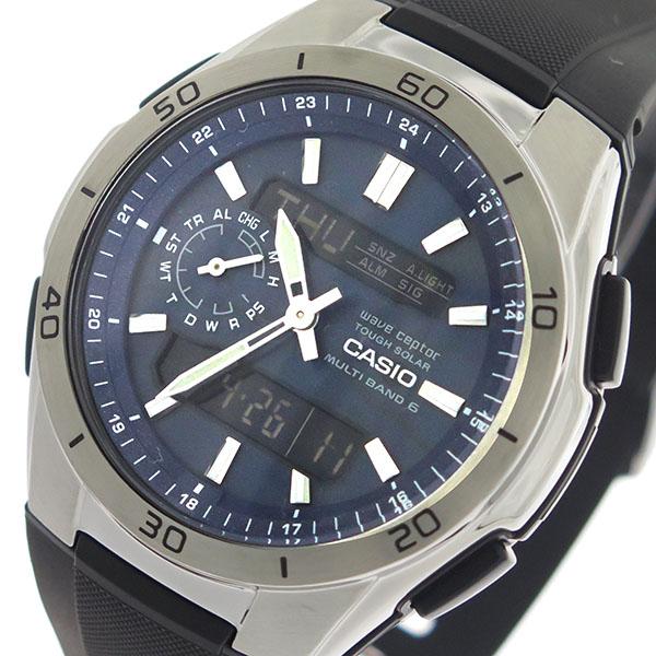 カシオ CASIO エディフィス EDIFICE クロノ クオーツ メンズ 腕時計 WVA-M650-2AJF 国内正規【】【楽ギフ_包装】