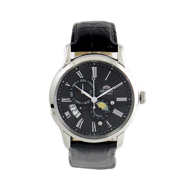 オリエント ORIENT 腕時計 メンズ SAK00004B0-B (RN-AK0003B) 自動巻き ブラック