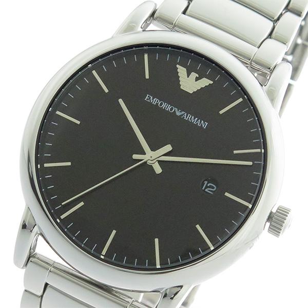 エンポリオ アルマーニ EMPORIO ARMANI KAPPA クオーツ メンズ 腕時計 AR2499 ブラック/シルバー【送料無料】