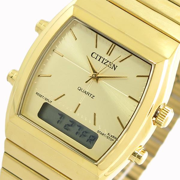 シチズン CITIZEN 腕時計 時計 メンズ レディース JM0542-56P クォーツ ゴールド