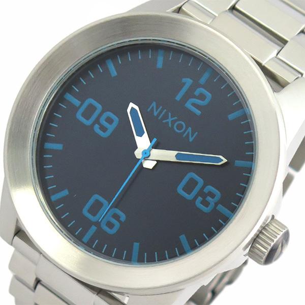 ニクソン NIXON 腕時計 メンズ A3462219 クォーツ ブルー シルバー【送料無料】