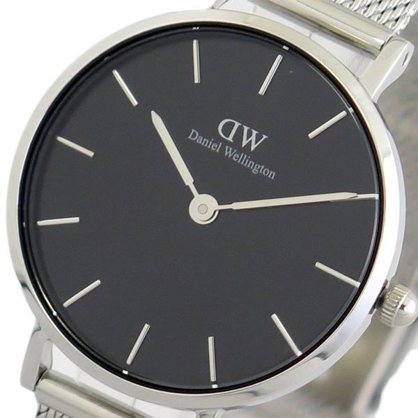 ダニエルウェリントン DANIEL WELLINGTON 腕時計 時計 レディース DW00100218 クォーツ ブラック シルバー