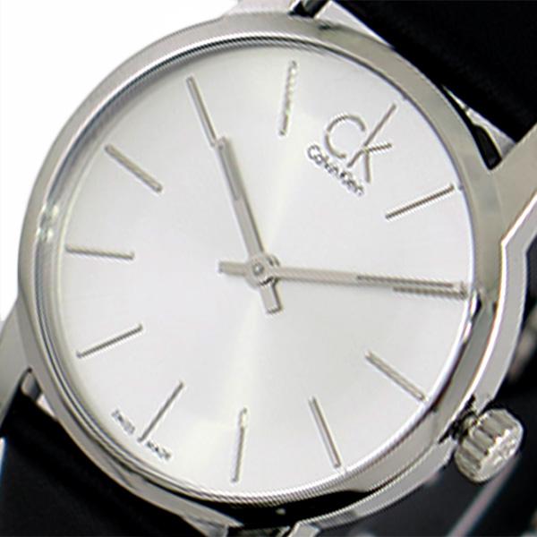 カルバンクライン CALVIN KLEIN 腕時計 レディース K2G231C6 シティー CITY クォーツ シルバー ブラック
