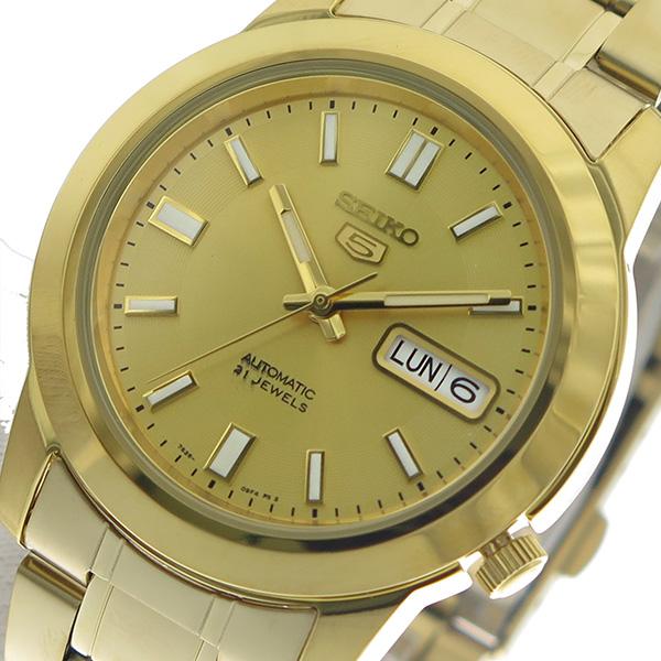 セイコー SEIKO 腕時計 メンズ SNKK20K1 セイコー5 SEIKO 5 ゴールド【送料無料】