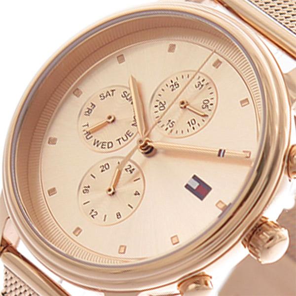 トミーヒルフィガー TOMMY HILFIGER 腕時計 レディース 1781907 クォーツ ピンクゴールド【送料無料】