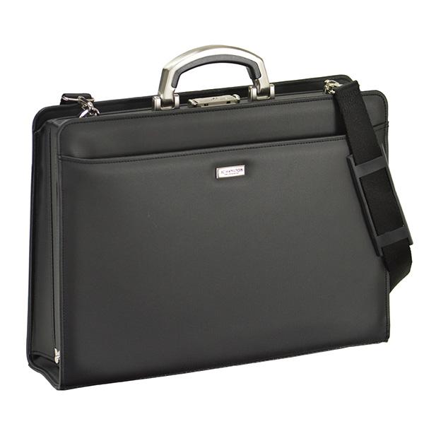 ジェーシーハミルトン J.C HAMILTON ビジネスバッグ メンズ 22301-1H ブラック【送料無料】