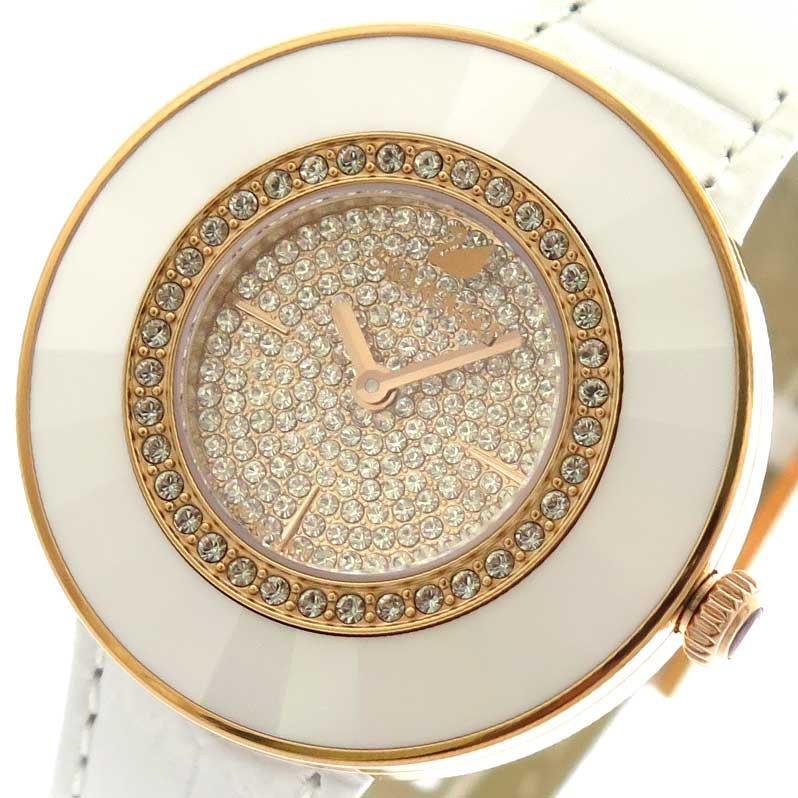 スワロフスキー SWAROVSKI 腕時計 レディース 5095383 クォーツ ジルコニア ホワイト【送料無料】