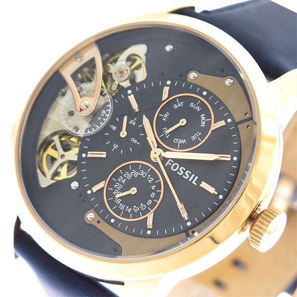 フォッシル FOSSIL 腕時計 メンズ ME1138 ネイビー【送料無料】