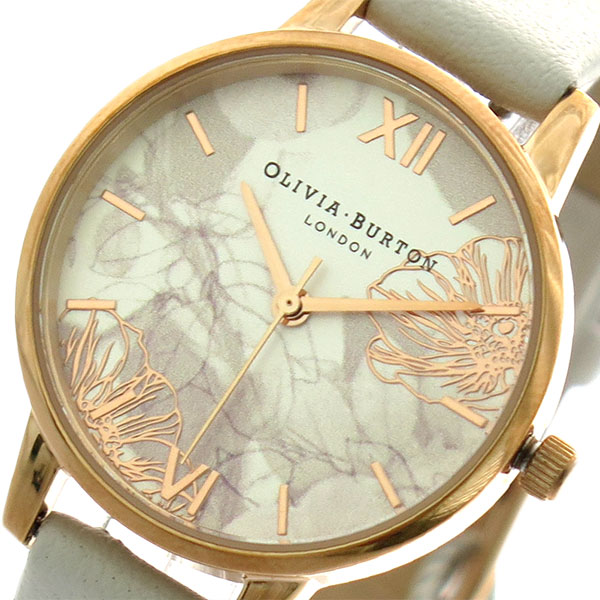オリビアバートン OLIVIA BURTON 腕時計 レディース OB16VM12 クォーツ オフホワイト