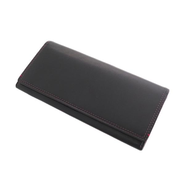 ペッペルコルン PEPPERCORN 長財布 メンズ レディース PPC-1703-BO ボルドー ブラック【送料無料】