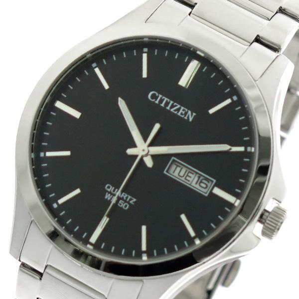 シチズン CITIZEN 腕時計 時計 メンズ BF2001-80E クォーツ ブラック シルバー