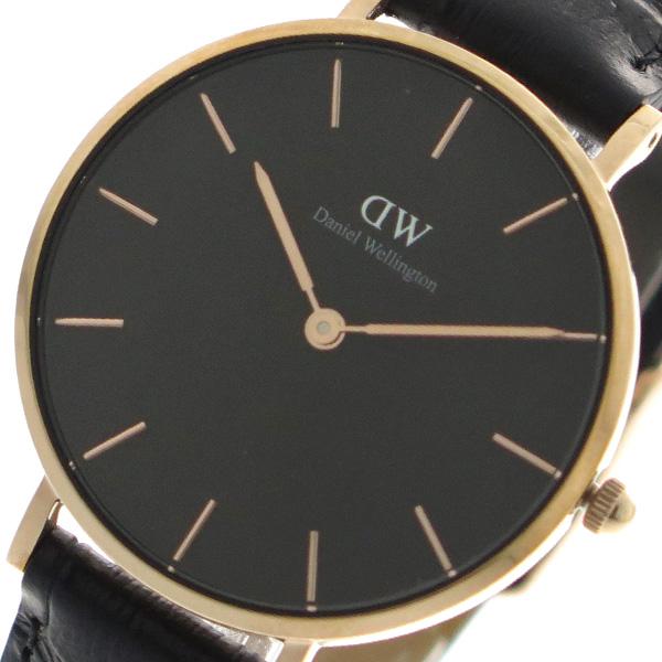 ダニエルウェリントン DANIEL WELLINGTON 腕時計 レディース DW00100167 クォーツ ブラック【送料無料】