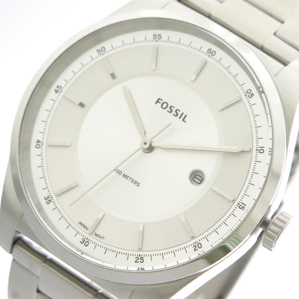 フォッシル FOSSIL 腕時計 メンズ FS5424 クォーツ ホワイトシルバー シルバー【送料無料】