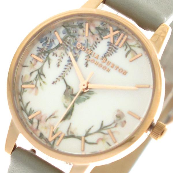 オリビアバートン OLIVIA BURTON 腕時計 レディース OB16PP22 クォーツ グレー【送料無料】