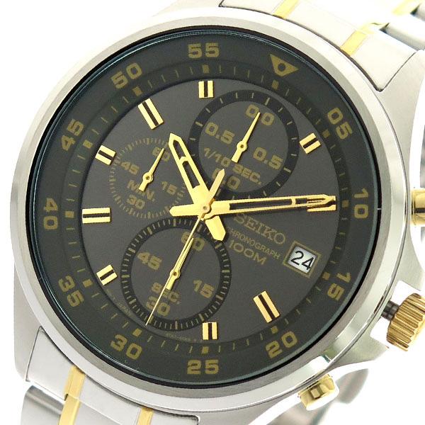 セイコー SEIKO 腕時計 メンズ SKS631P1 クォーツ グレー シルバー【送料無料】