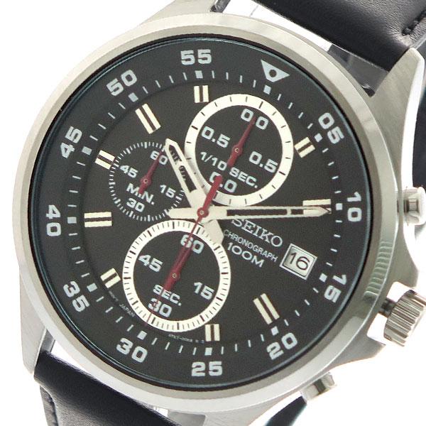 セイコー SEIKO 腕時計 メンズ SKS635P1 クォーツ ブラック【送料無料】