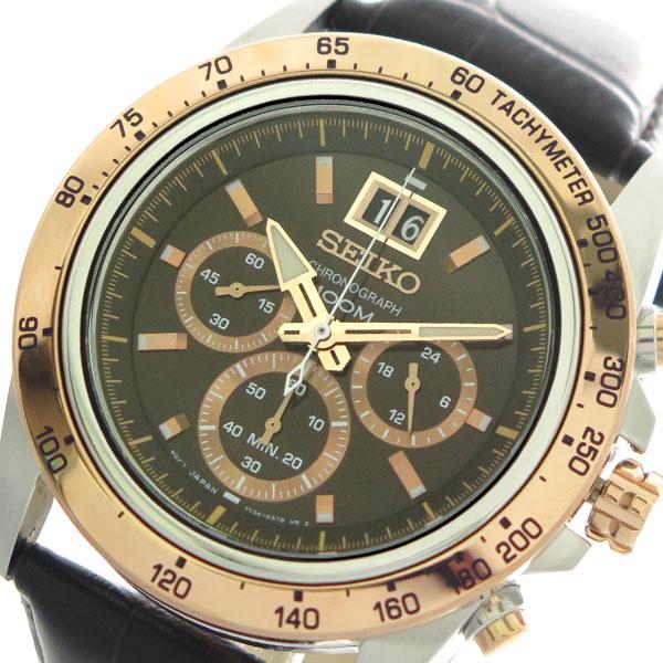 セイコー SEIKO 腕時計 メンズ SPC248P1 クォーツ ダークブラウン【送料無料】