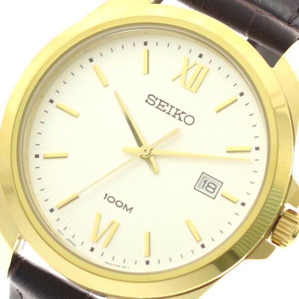 セイコー SEIKO 腕時計 メンズ SUR284P1 クォーツ シルバー ダークブラウン【送料無料】