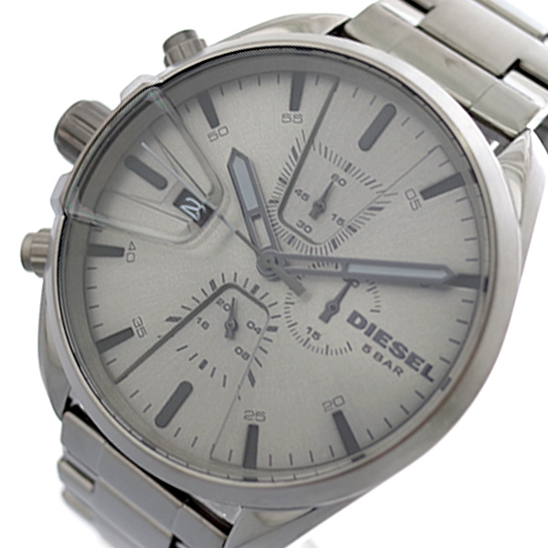 ディーゼル DIESEL 腕時計 メンズ DZ4484 MS9 エムエスナイン クォーツ グレー【送料無料】