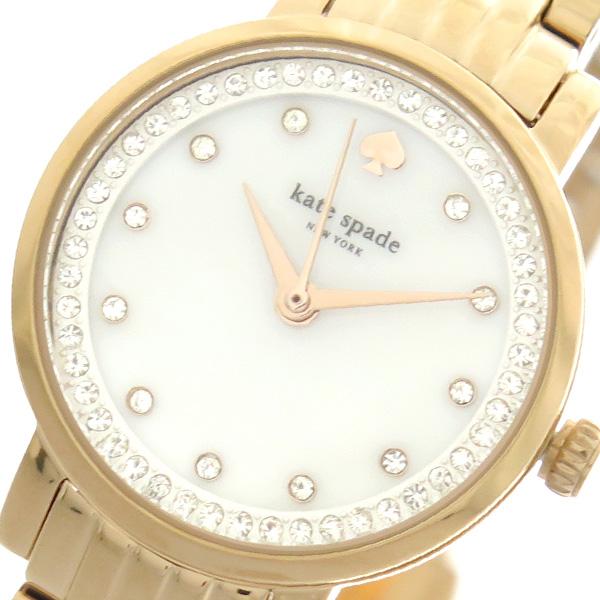 ケイトスペード KATE SPADE 腕時計 レディース KSW1243 クォーツ シェル ピンクゴールド【送料無料】