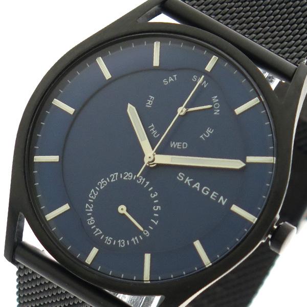 スカーゲン SKAGEN 腕時計 メンズ SKW6450 クォーツ ブルー ブラック【送料無料】