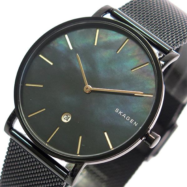 スカーゲン SKAGEN 腕時計 メンズ SKW6472 クォーツ ブラックシェル ブラック【送料無料】