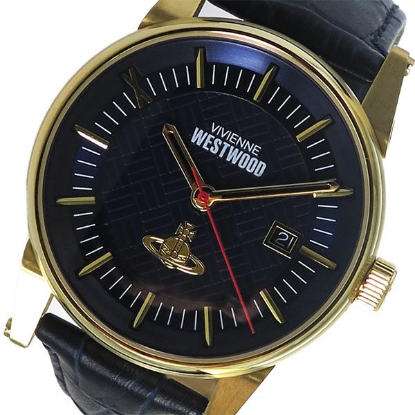 ヴィヴィアン ウエストウッド Vivienne Westwood メンズ 腕時計 VV065BLBL ネイビー【送料無料】