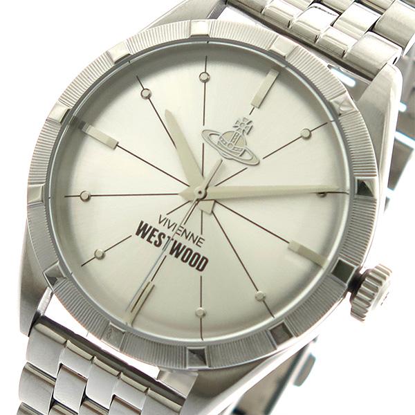 ヴィヴィアンウエストウッド VIVIENNE WESTWOOD 腕時計 メンズ VV192SLSL クォーツ シルバー【送料無料】
