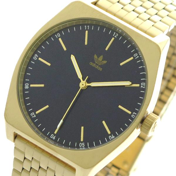 アディダス ADIDAS 腕時計 メンズ レディース Z02-2913 プロセス-M1 PROCESS-M1 CJ6343 クォーツ ネイビー ゴールド【送料無料】