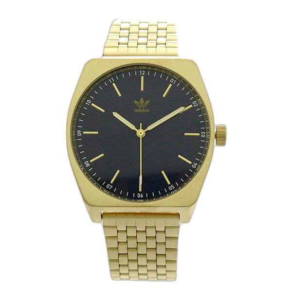 アディダス ADIDAS 腕時計 メンズ レディース Z02-2913 プロセス-M1 PROCESS-M1 CJ6343 クォーツ ネイビー ゴールド