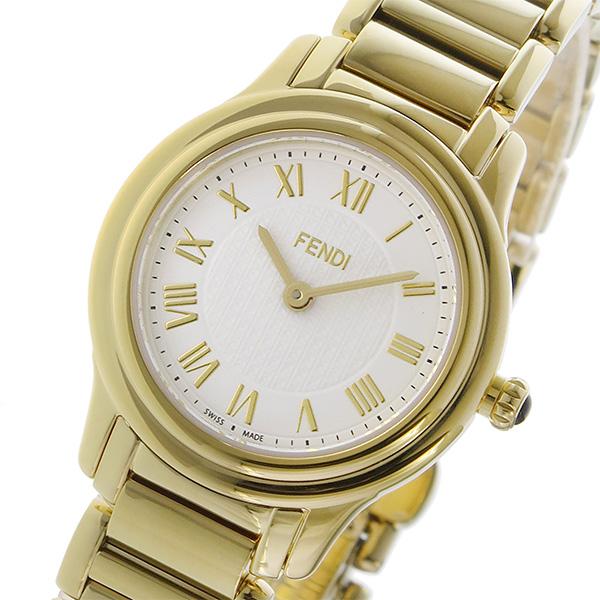 フェンディ FENDI クラシコ ラウンド CLASSICO クオーツ レディース 腕時計 F251424000 ホワイト ホワイト【送料無料】