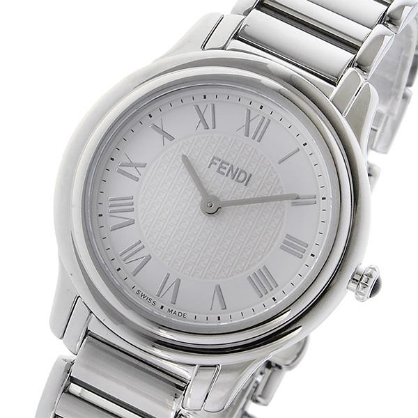 フェンディ FENDI クラシコ ラウンド CLASSICO クオーツ レディース 腕時計 F251034000 ホワイト ホワイト 送料無料 限定アイテム 送别会 お祝い 法要