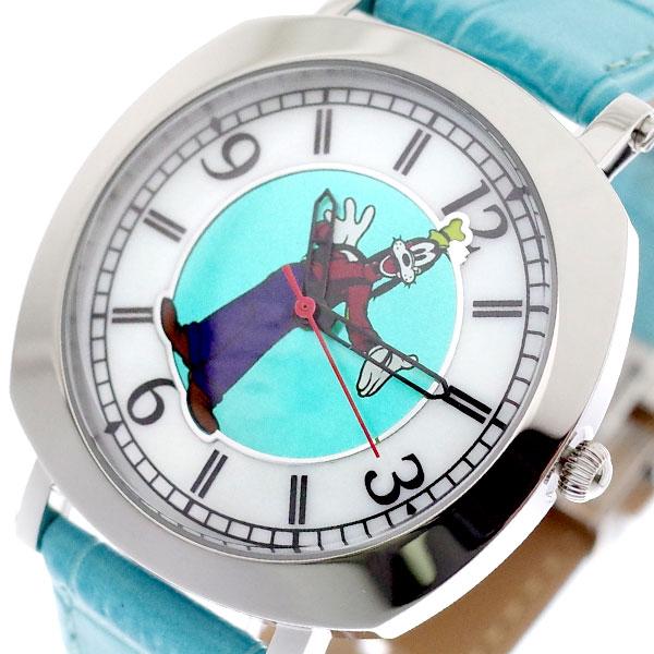 ディズニー DISNEY グーフィー 腕時計 メンズ レディース MK1280C GOOFY クォーツ ホワイト グリーン 国内正規【送料無料】