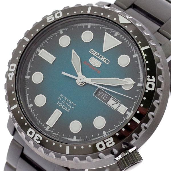 セイコー SEIKO 腕時計 メンズ SRPC65K1 セイコー5 SEIKO5 スポーツ SPORTS 自動巻き グリーン ブラック【送料無料】