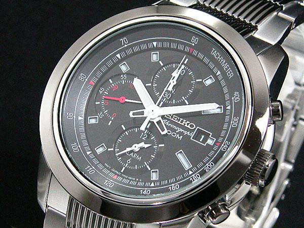 セイコー SEIKO 腕時計 クロノグラフ アラーム SNAB19P1【送料無料】