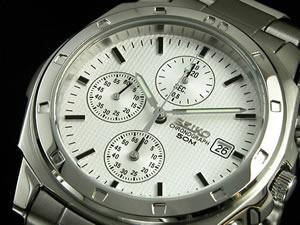 セイコー SEIKO 腕時計 クロノグラフ メンズ SND187P1【送料無料】
