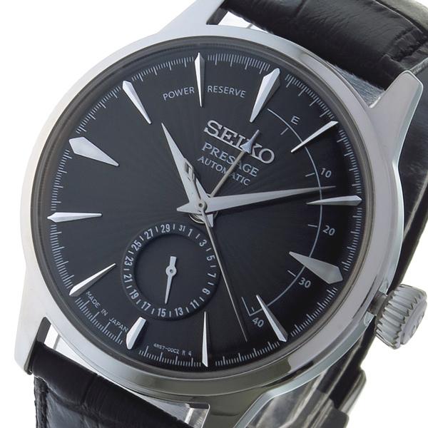セイコー SEIKO プレサージュ PRESAGE 自動巻き メンズ 腕時計 SSA345J1 ダークグレー ダークグレー【送料無料】